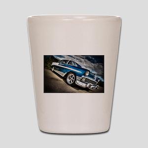 Retro car Shot Glass