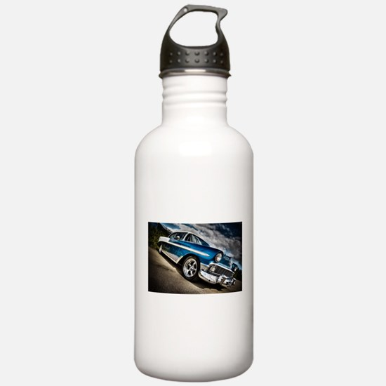 Retro car Sports Water Bottle