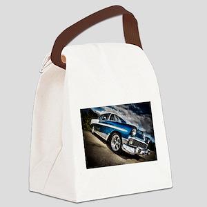 Retro car Canvas Lunch Bag