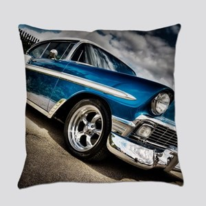 Retro car Everyday Pillow