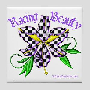 Racing Beauty Tile Coaster