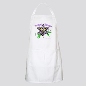 Racing Beauty BBQ Apron