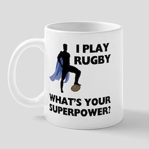 Rugby Superhero Mug