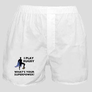 Rugby Superhero Boxer Shorts