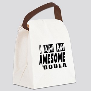 I Am Doula Canvas Lunch Bag