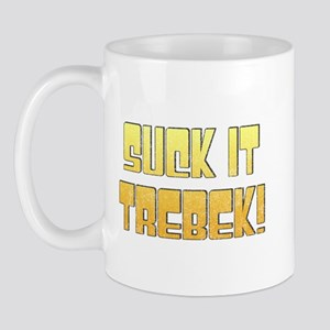 Suck it Trebek! Mug