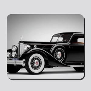 Vintage Retro Car Mousepad