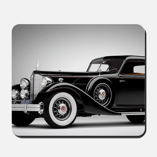 Vintage Retro Car Mousepad