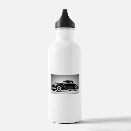 Vintage Retro Car Sports Water Bottle
