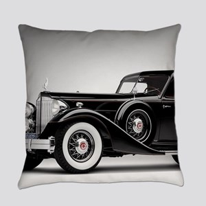 Vintage Retro Car Everyday Pillow