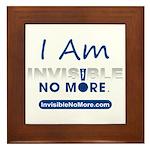 I Am Invisible No More Framed Tile