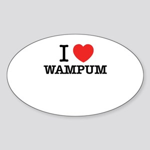 I Love WAMPUM Sticker
