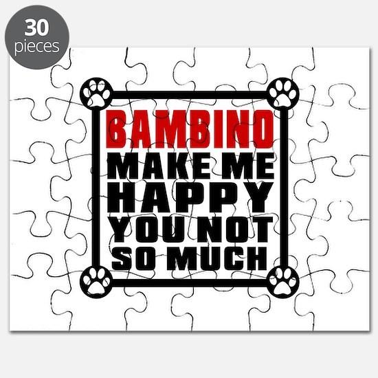 Bambino Cat Make Me Happy Puzzle