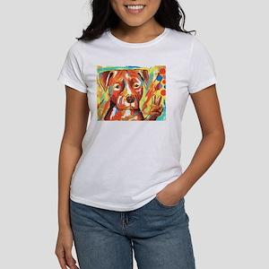 """Pitbull """"Peace"""" Women's Classic T-Shirt"""