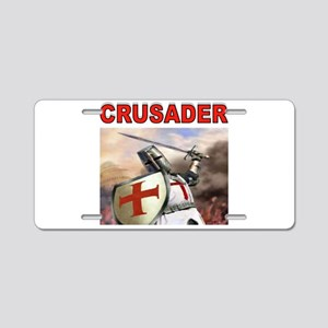 CRUSADER Aluminum License Plate
