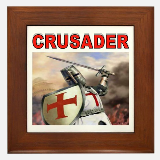CRUSADER Framed Tile