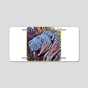 NY CARLSBERG GLYPTOTEK LION Aluminum License Plate
