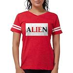 Extraterrestrial ALIEN (lie: white background) T-S