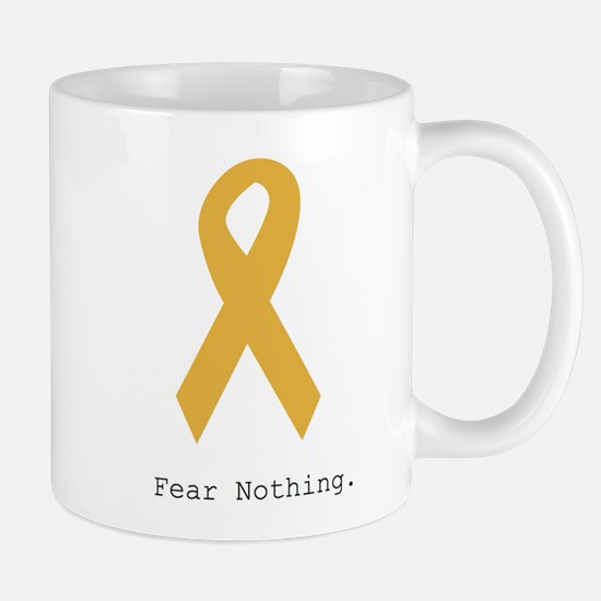 Gold. Fear Nothing. Mugs