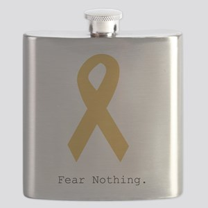 Gold. Fear Nothing. Flask