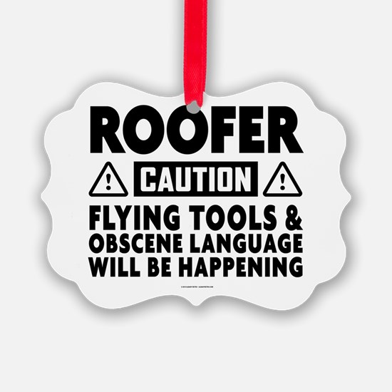 Cute Roofing Ornament