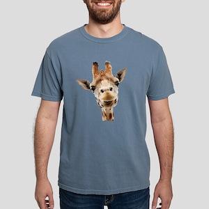 Funny Smiling Giraffe White T-Shirt