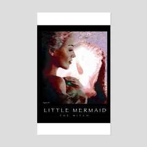 Little Mermaid - The Witch Rectangle Sticker
