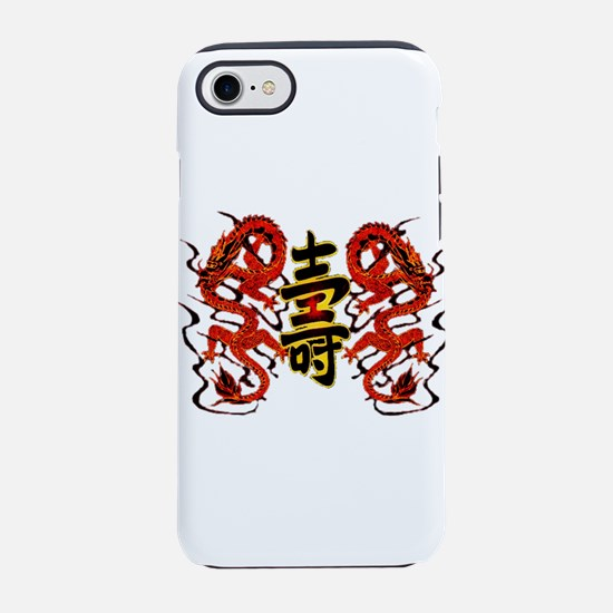 Asian Long Life Red Dragon iPhone 8/7 Tough Case