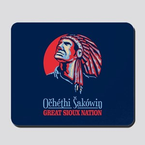 Great Sioux Nation Mousepad