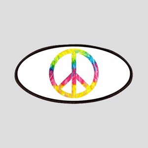 Tie-Dye Peace Symbol Patch