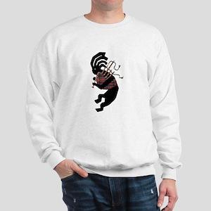 Kokopelli Bagpipes Sweatshirt