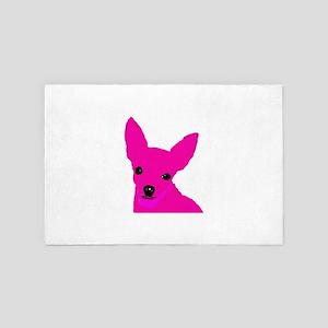 Pink Chi 4' x 6' Rug