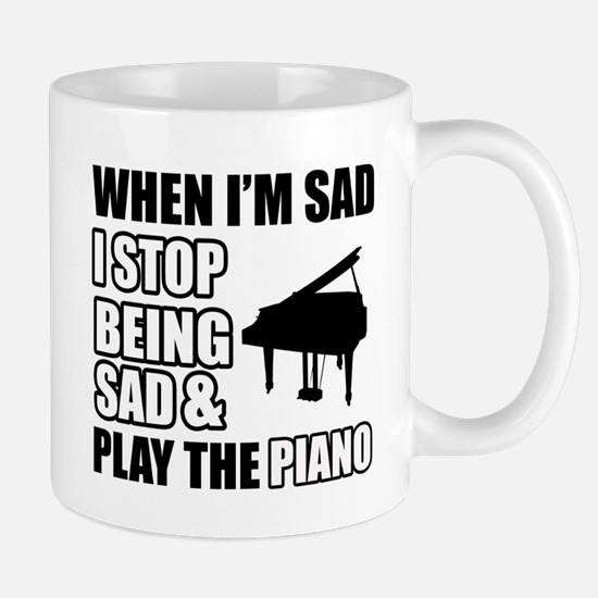 The Piano Design Mugs