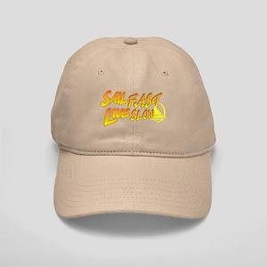Sail Fast Live Slow sailing yellow Cap