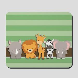 Safari Animals Mousepad