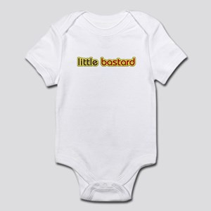 little bastard Infant Bodysuit