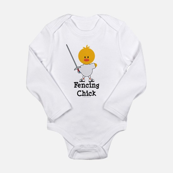 Fencing Chick Body Suit