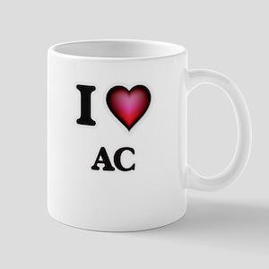 I Love Ac Mugs