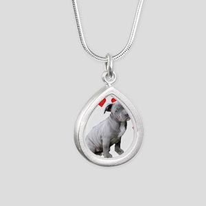 Valentine's Pitbull Puppy Necklaces