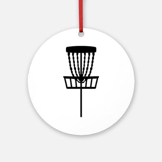 Disc golf Round Ornament