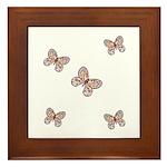Butterfly Simplicity Framed Tile