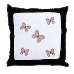 Butterfly Simplicity Throw Pillow