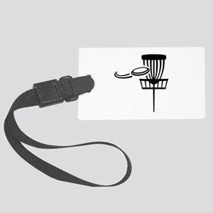 Disc golf Large Luggage Tag