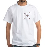 Butterfly Simplicity White T-Shirt