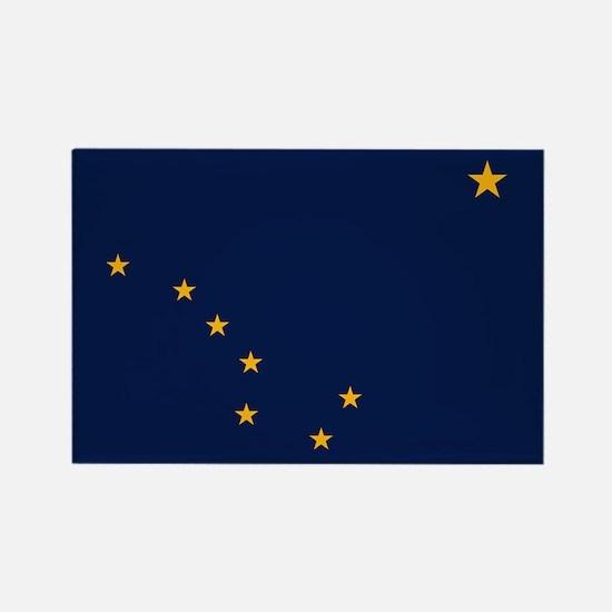 Alaska: Alaska State Flag (Color) Rectangle Magnet