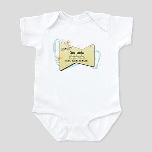 Instant Cross stitcher Infant Bodysuit