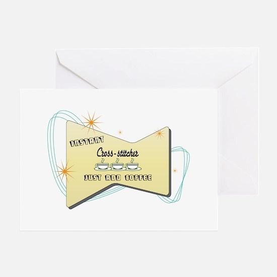 Instant Cross stitcher Greeting Card