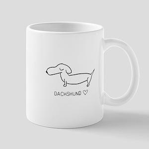 Dachshund Love Mugs