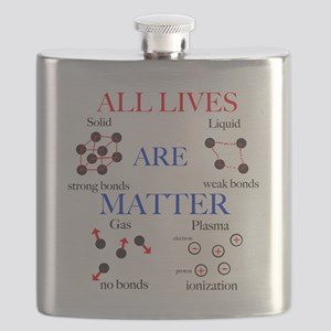 All Lives Are Matter Flask