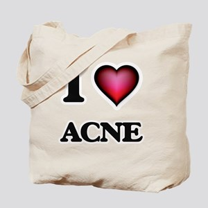 I Love Acne Tote Bag